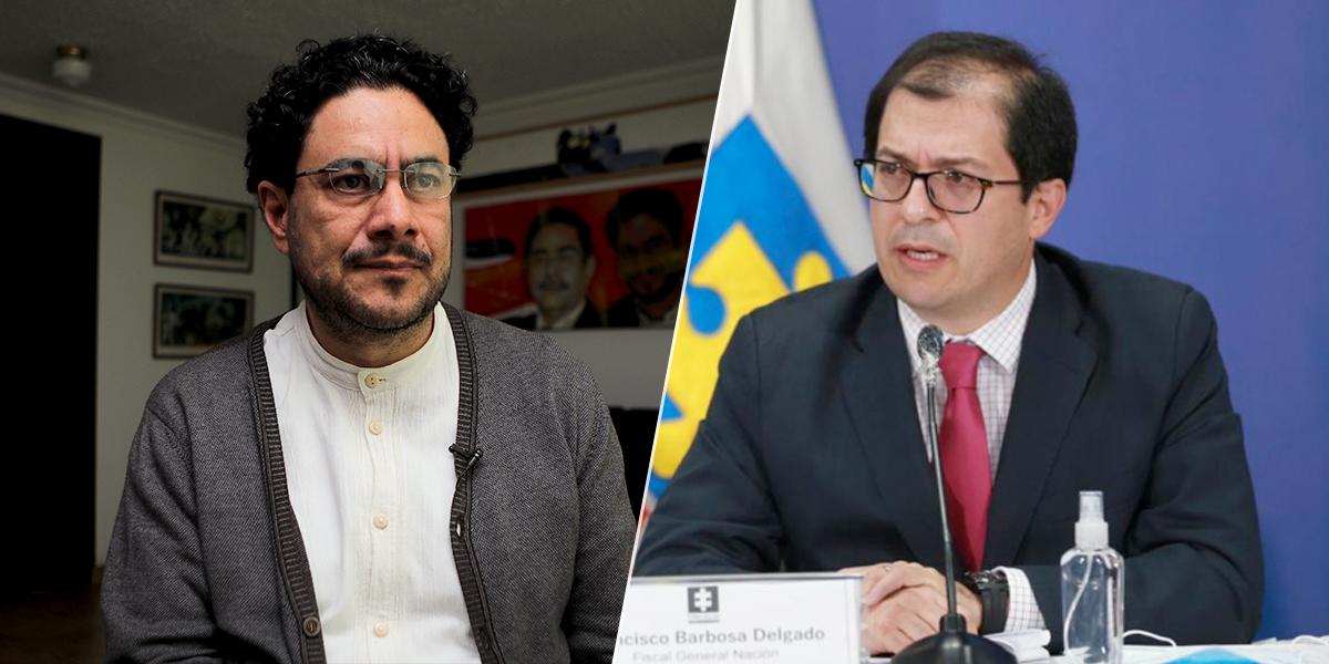 Cepeda ya presentó recusación contra Fiscal Barbosa en caso Uribe