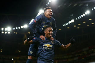 Manchester United Throw Arsenal Out Of FA Cup