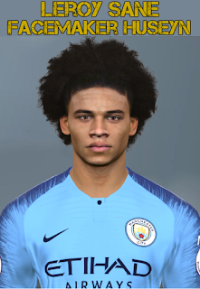 PES 2017 Faces Leroy Sane by Facemaker Huseyn