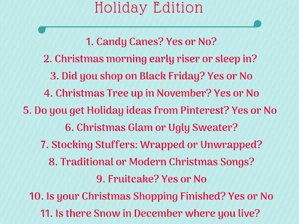 TBB Asks Holiday Edition