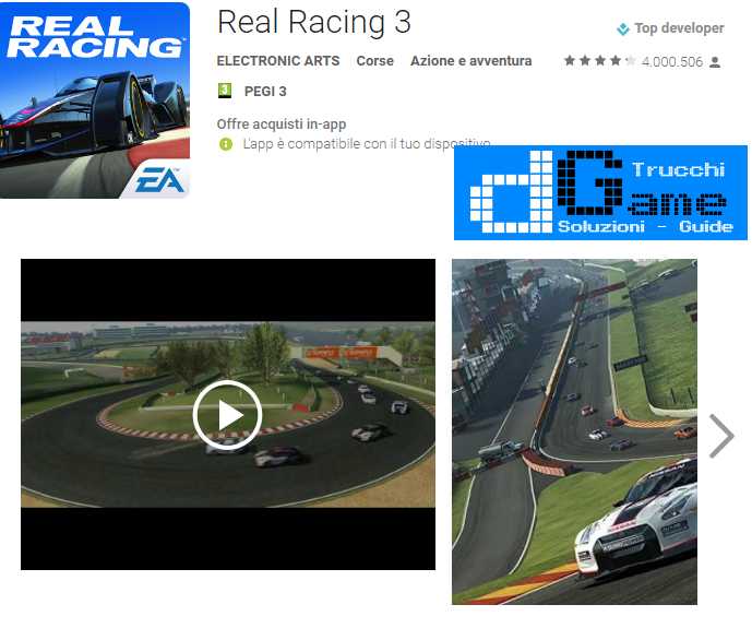 Trucchi Real Racing 3 Mod Apk Android 4.7.3