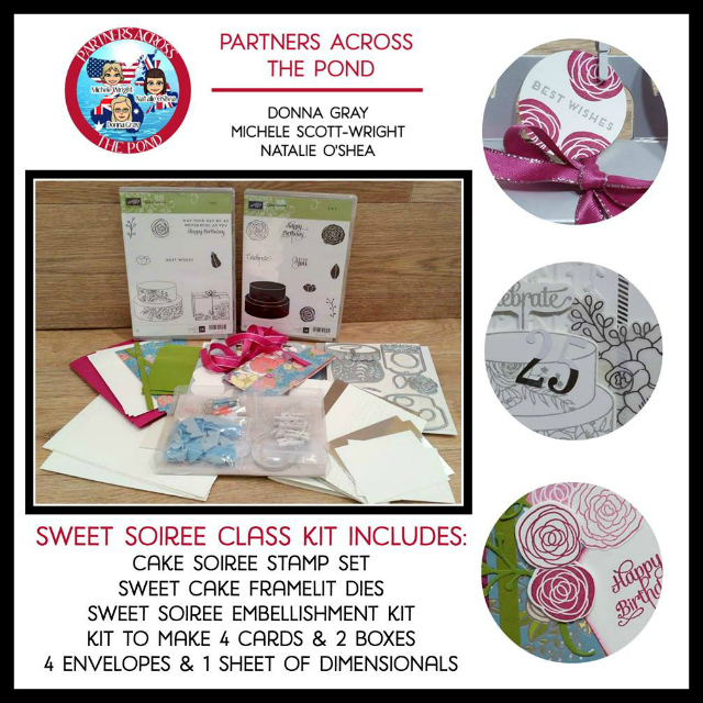 Sweet Soiree, On Line Video Class, Stampin UP