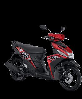Dealer Motor Yamaha Mio M3 125 CW di Solo Merah