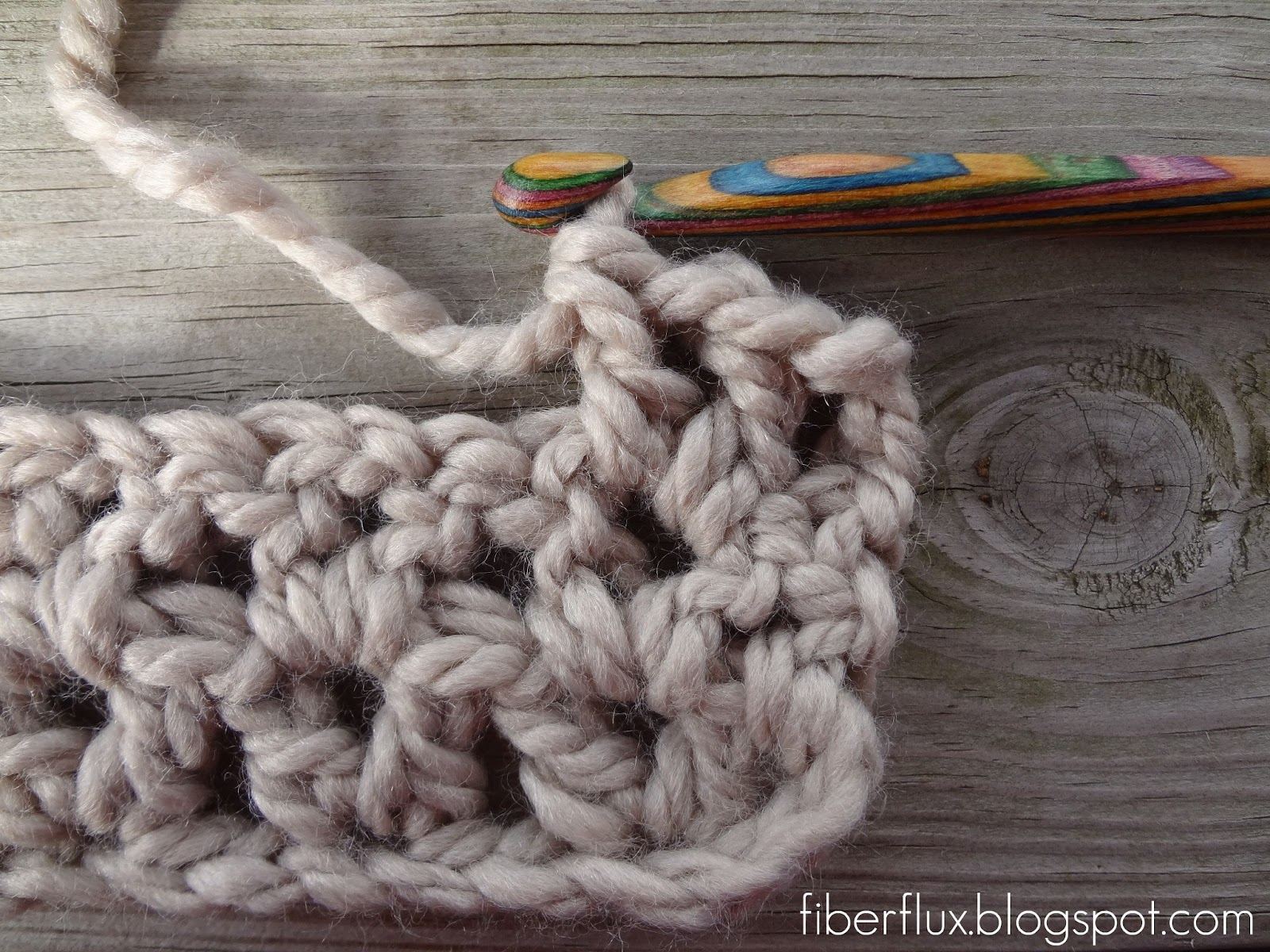 Fiber Flux How To Crochet The V Stitch