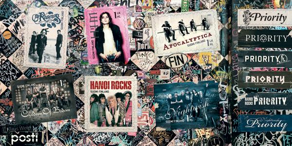 rock metal postimerkki