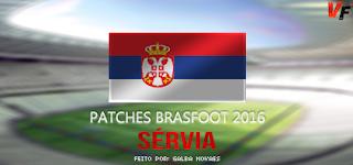 Patch da Sérvia - Brasfoot 2016