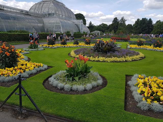 Kew Gardens și aleea din vârful copacilor!