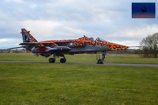 RAF SEPECAT Jaguar spotty Jag XX119 Ground attack bomber Cosford
