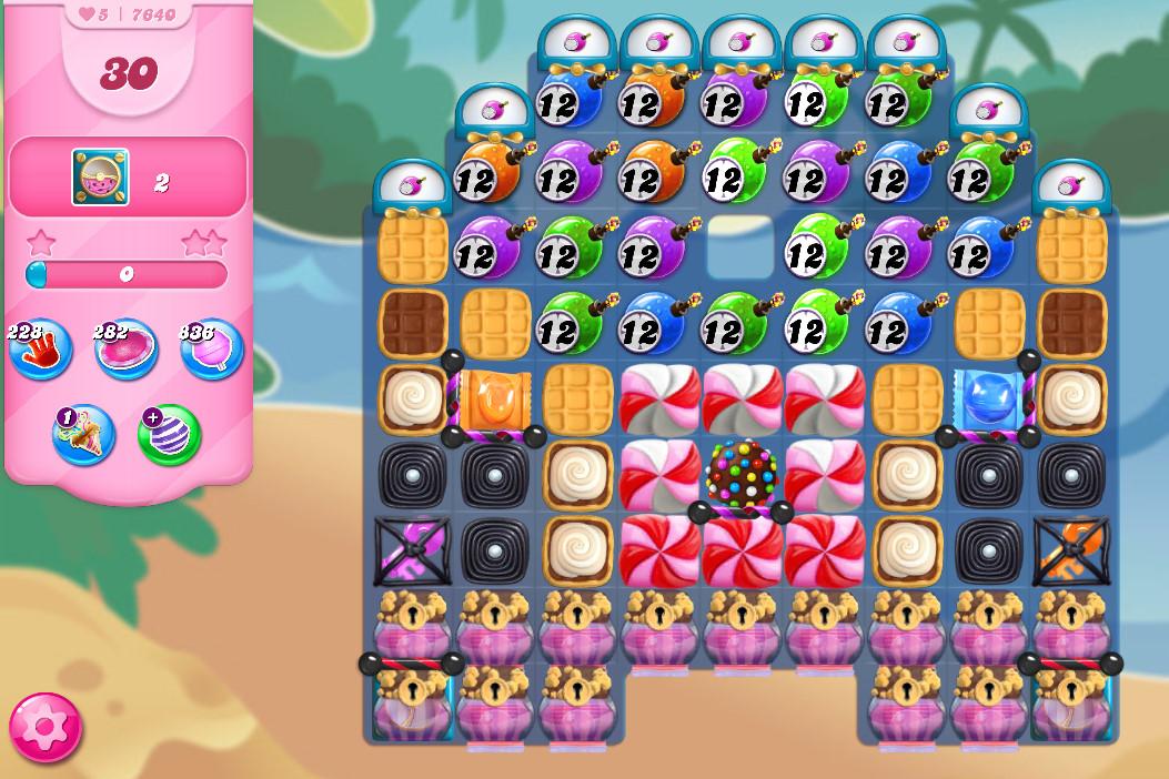 Candy Crush Saga level 7640
