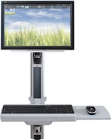 MooreCo HG Wall Mount Workstation