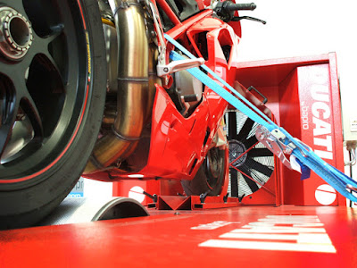 ducati bapro dynamometer chassi dynotest