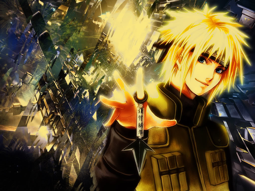 Naruto Wallpapers: Yondaime Hokage : Minato The Yellow Flash