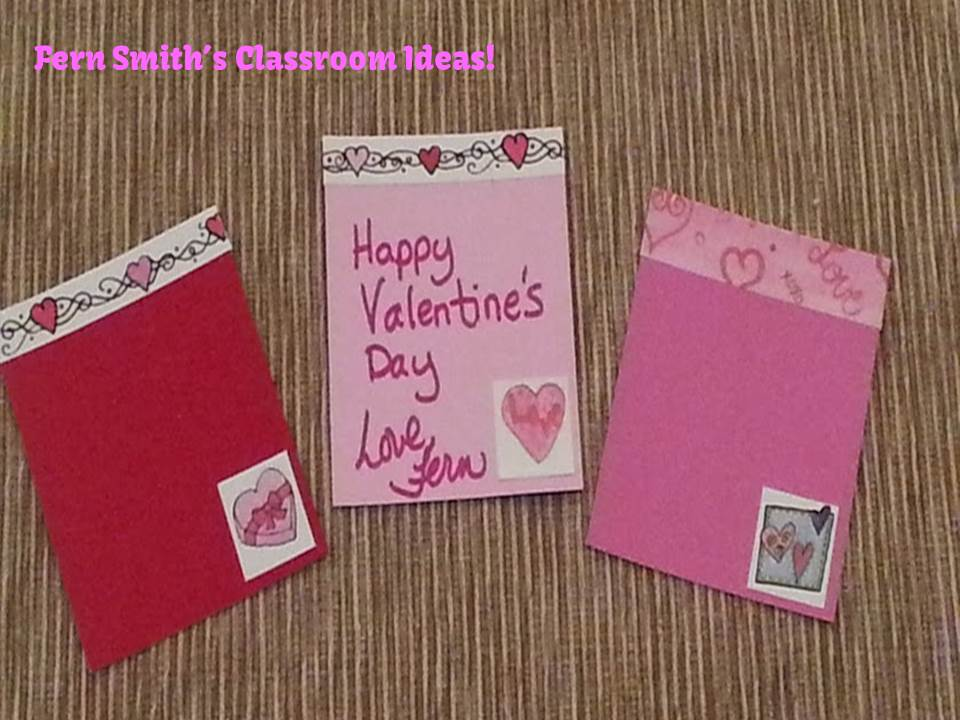 Fern Smith's Classroom Ideas' Valentine's Day Ideas, Including Decorating, Bookmarkers, Center Games and Lesson Plans