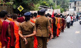5 Day MASSIVE Protest march Kandy to Colombo