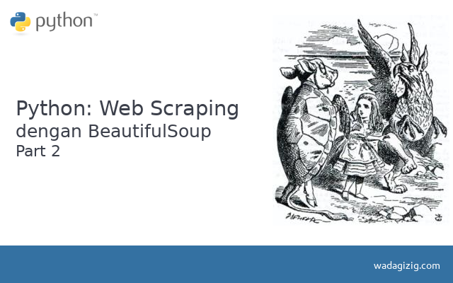 Python: Web Scraping dengan BeautifulSoup