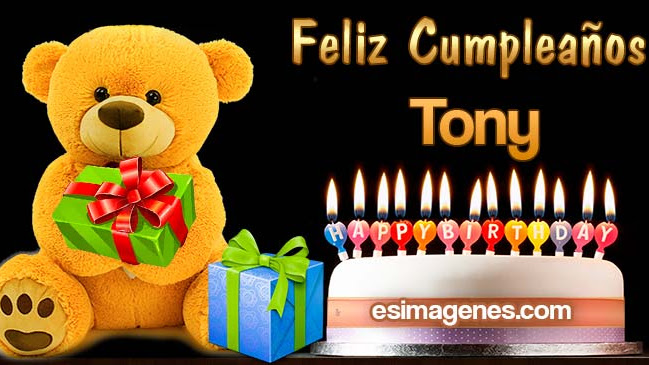 Feliz Cumpleaños Tony
