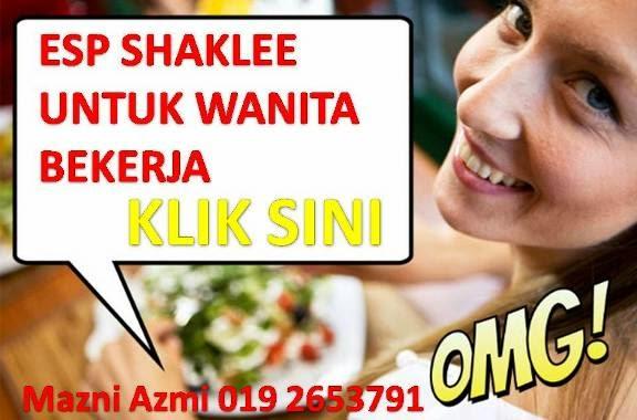khasiat esp shaklee untuk ibu gastrik bekerjaya