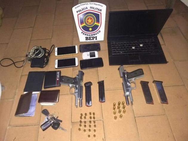 Operação policial nas  cidades alagoanas  de Canapi, Inhapi, Mata Grande  e em Tacaratu/PE, resulta na prisão de quadrilha  acusada de ataques a bancos e carro-forte em Alagoas
