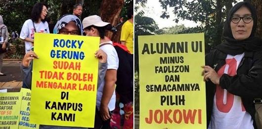 Fadli Zon: Alumni UI Pendukung Jokowi - Ma'ruf Tak Berakal Sehat