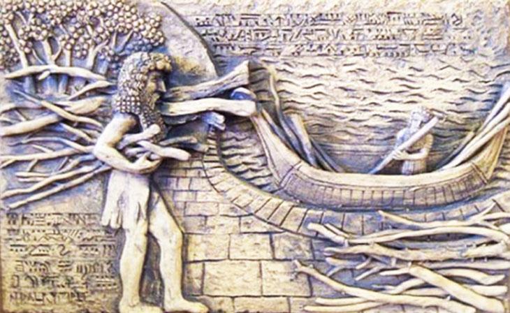 A, mitoloji, sümer mitolojisi, Sümerler, Nuh Tufanı, Nuh Tufanı Sümer kökenlidir, Nuh Tufanı Sümerler tarafından yazılmıştır, Sümer tabletlerinde büyük tufan, Utnapiştim,