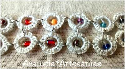 pulsera crochet 2