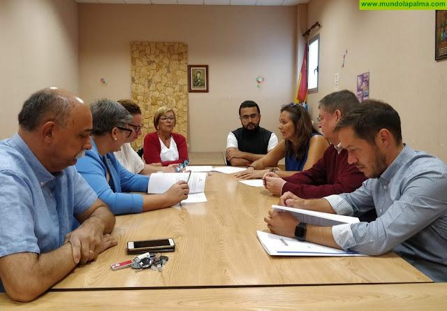 Mariano H. Zapata destaca el compromiso del Cabildo con las personas sin hogar y ensalza la labor que realiza Cáritas