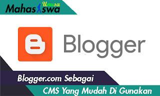 blogspot sebagai cms
