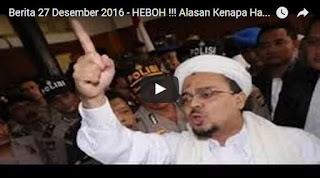 Beberapa Alasan Kenapa Habib Rizieq Tidak Diundang NU