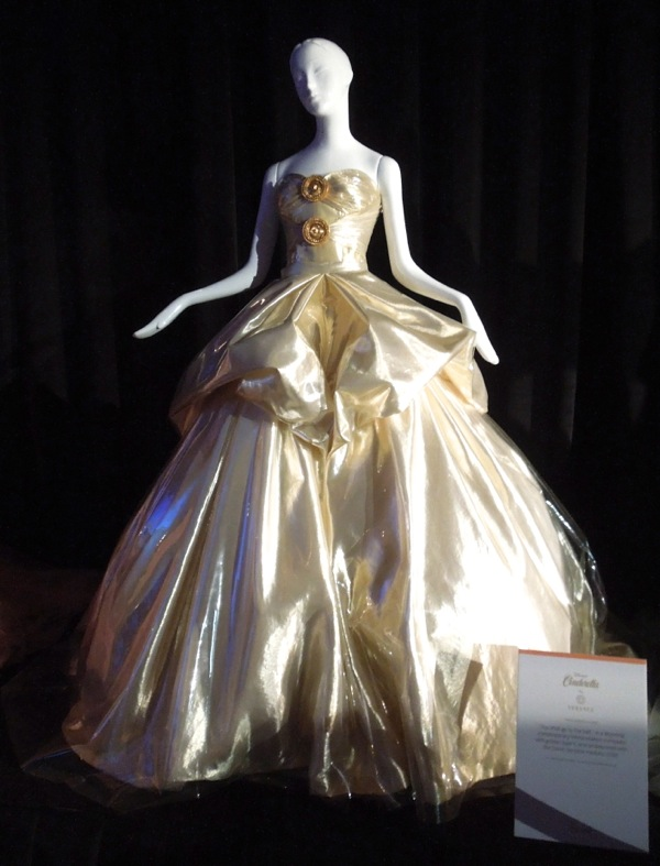 Harrods Once Upon Dream Disney Cinderella gown