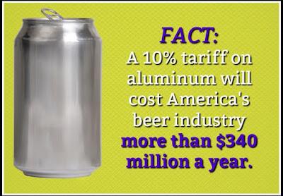 Beer tariffs