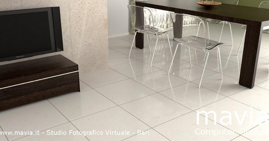 Arredamento di interni Rendering vray in Cinema 4d interni ed esterni 3d pavimento in marmo