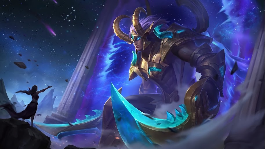 martis capricorn skin mobile legends uhdpaper.com 4K 10