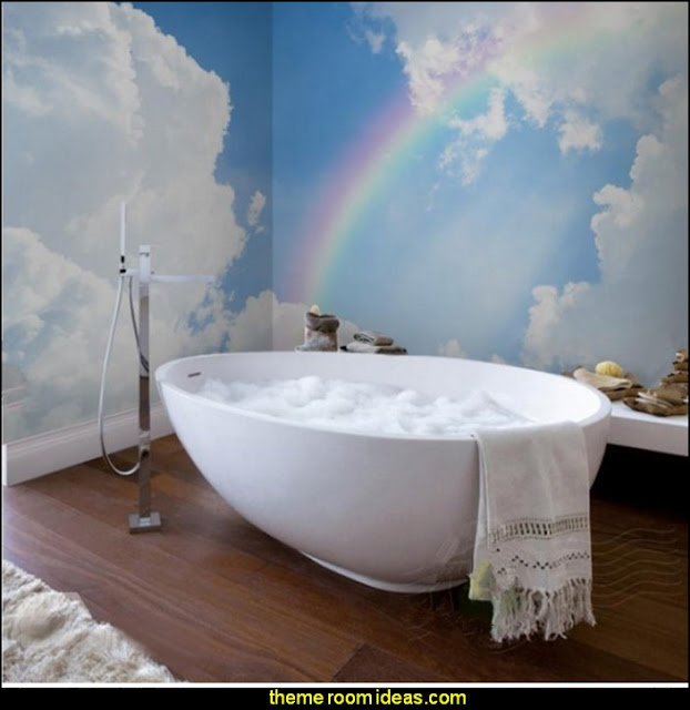 Rainbow Themed Room