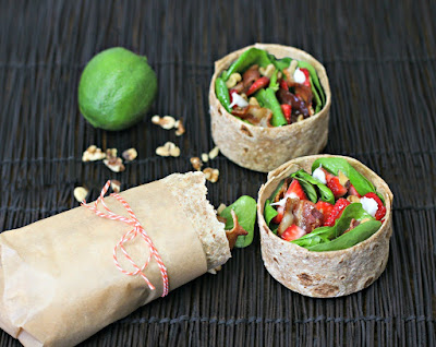 http://www.culinaryenvy.com/strawberry-spinach-salad-breakfast-wrap/