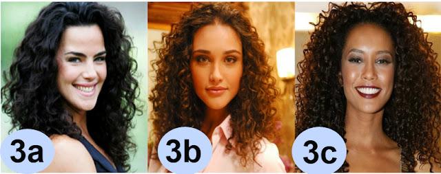 Tabela tipos de cabelo 3