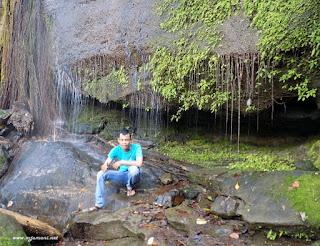 objek wisata air terjun di aranio