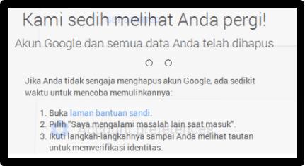 Cara Hapus Akun Google Permanen