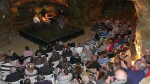 Nueva velada flamenca: el cante, el toque y el baile vuelven a la mina