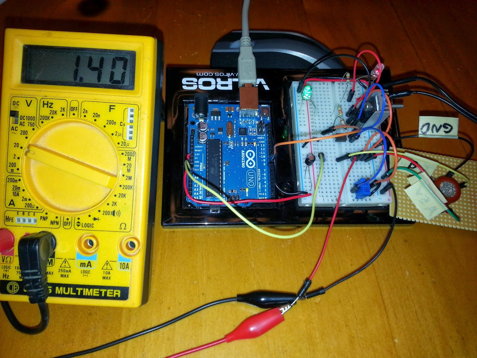 Internet Of Things Co Carbon Monoxide Gas Sensor Using The Use Relays To Control Highvoltage Circuits With An Arduino