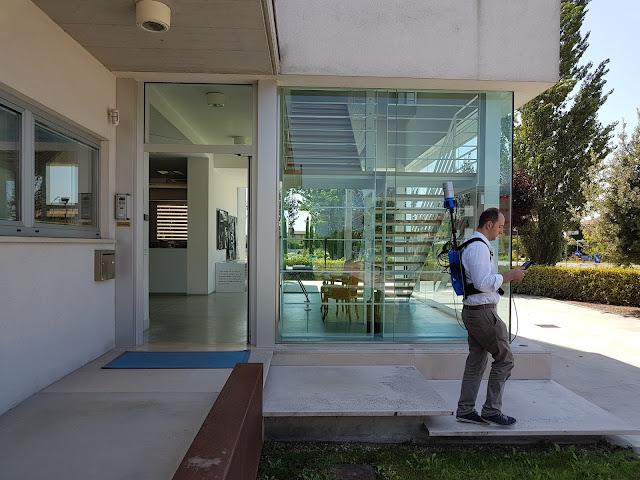 HERON survey of Studio Santi building