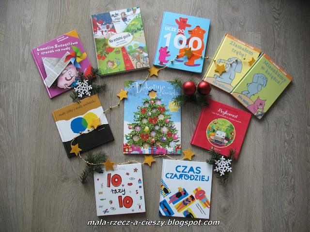 Pomysły na prezent świąteczny - książki dla przedszkolaków