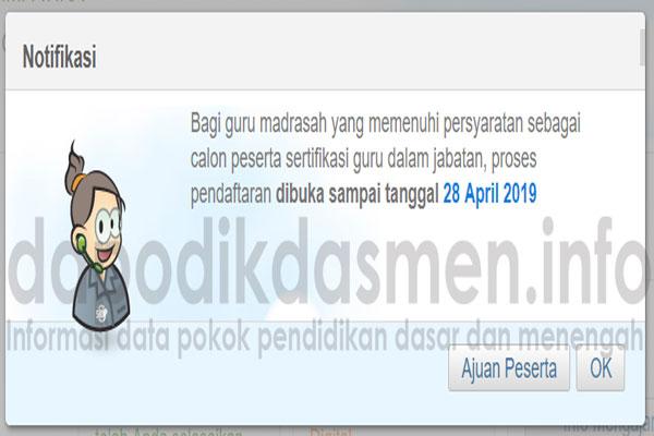 Pendaftaran PPG Dalam Jabatan Tahun 2019 Dibuka