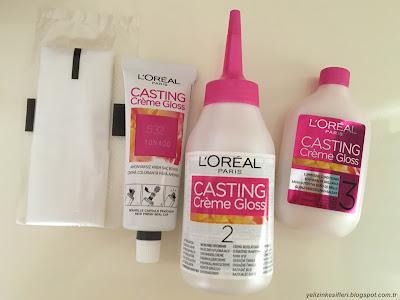 loreal casting creme gloss saç boyası 532