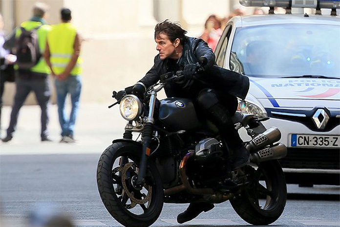 motorcycle shooting  Double O Section: First Set Photos Emerge from MISSION: IMPOSSIBLE 6 ...
