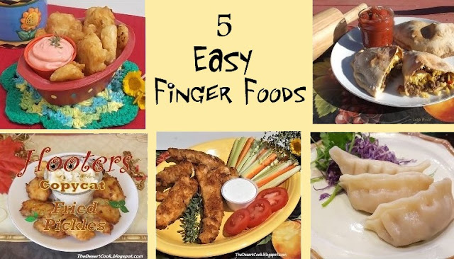 finger foods recipes