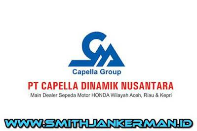 Lowongan Kerja PT. Capella Dinamik Nusantara Pekanbaru Februari 2018