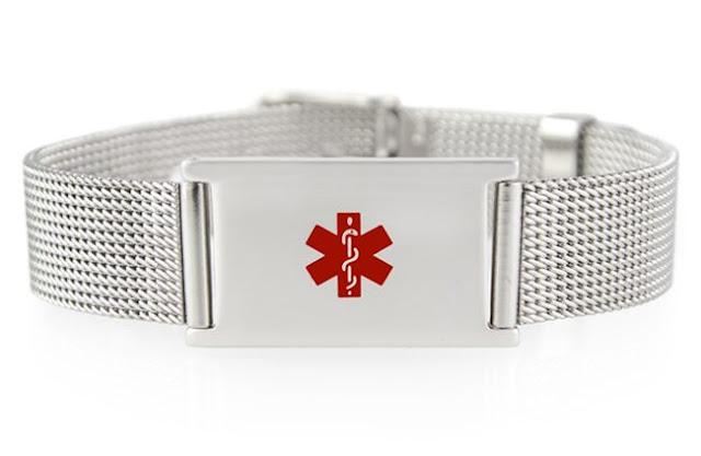 Urban Medical Alert Bracelet