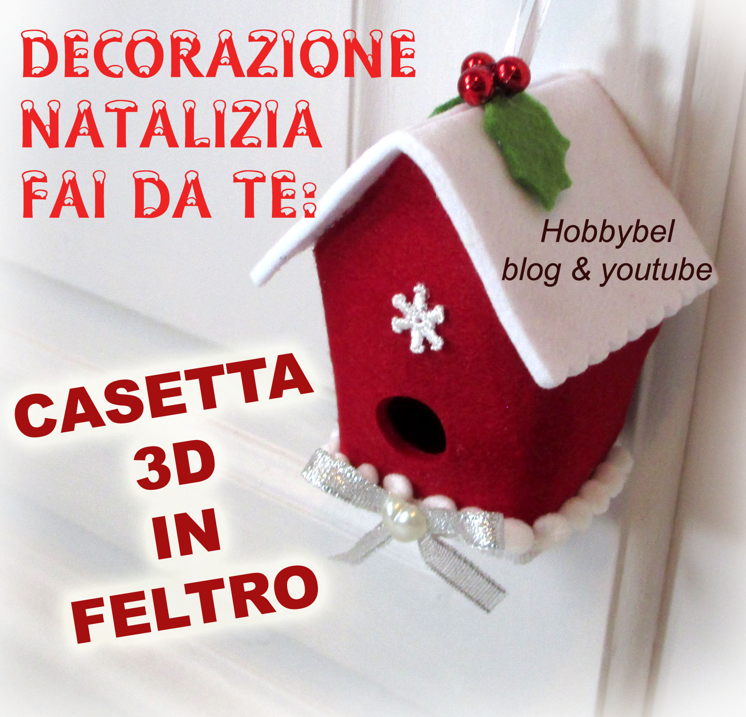 Tutorial decorazioni natalizie sb12 regardsdefemmes for Decorazione be u