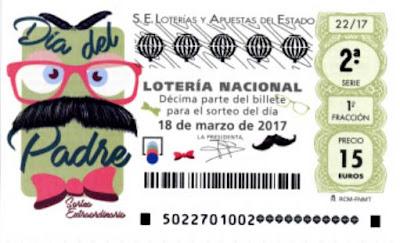 loteria nacional sabado 18-03-2017 extraordinario del día del padre
