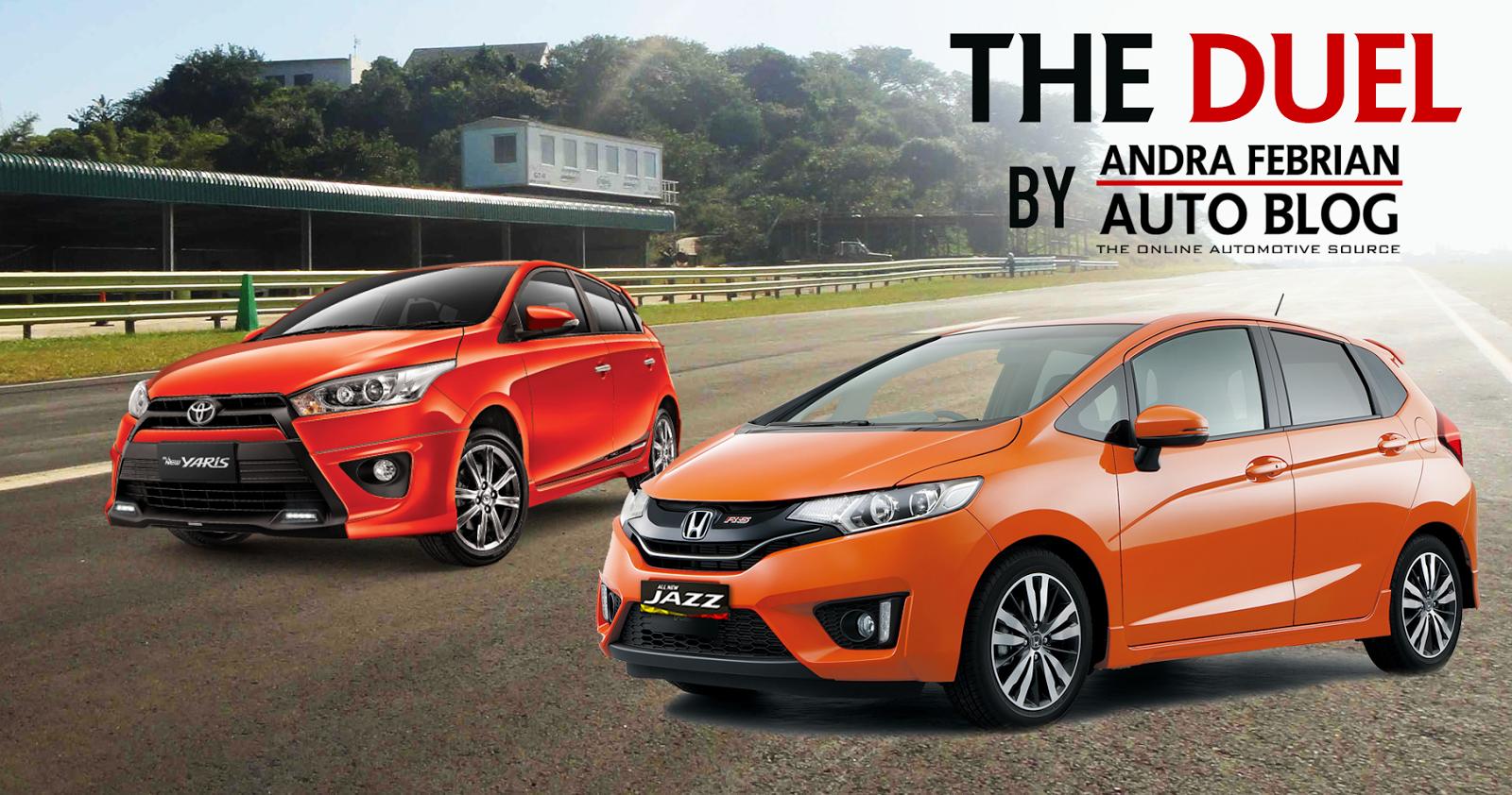 Toyota Yaris Trd Vs Honda Jazz Rs Harga All New Kijang Innova Perbandingan 2014 Andra